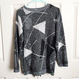 Totally 80s Geometric Sweater